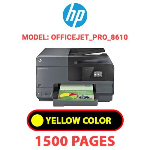 Officejet Pro 8610 3 - HP Officejet_Pro_8610 - YELLOW INK