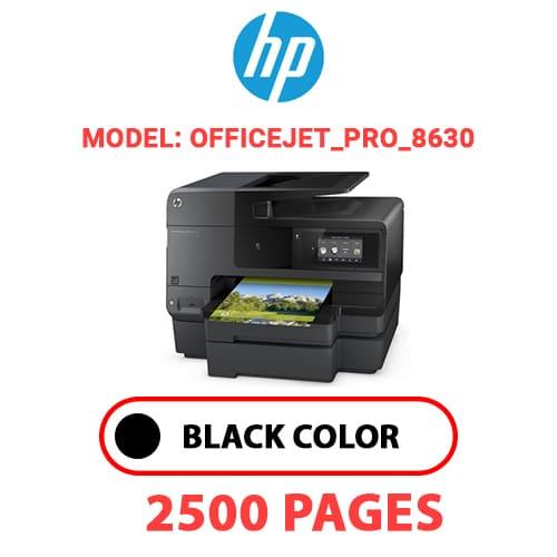 Officejet Pro 8630 - HP Officejet_Pro_8630 - BLACK INK