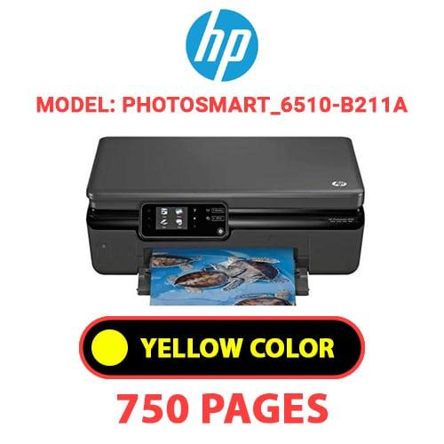 Photosmart 6510 B211a 3 - HP Photosmart_6510-B211a - YELLOW INK