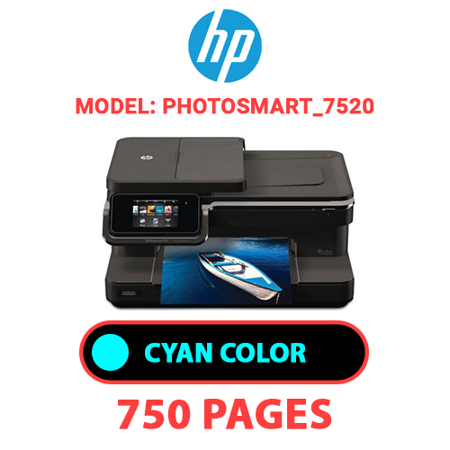 Photosmart 7520 2 - HP Photosmart_7520 - CYAN INK