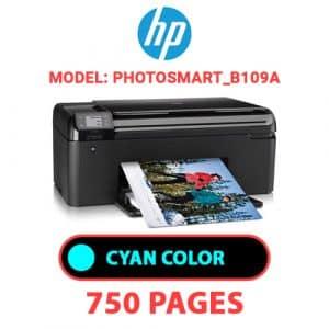 Photosmart B109a 1 - HP Printer