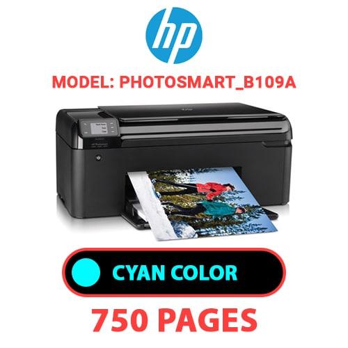 Photosmart B109a 1 - HP Photosmart_B109a - CYAN INK