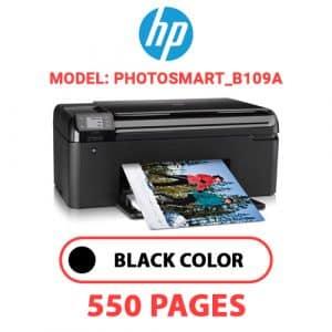 Photosmart B109a - HP Printer