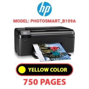 Photosmart B109a 4 - HP Printer
