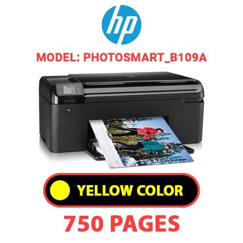 Photosmart B109a 4 - HP Photosmart_B109a - YELLOW INK