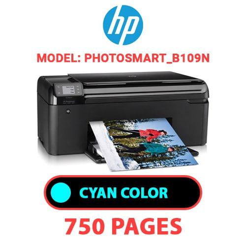 Photosmart B109n 1 - HP Photosmart_B109n - CYAN INK