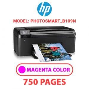 Photosmart B109n 2 - HP Printer