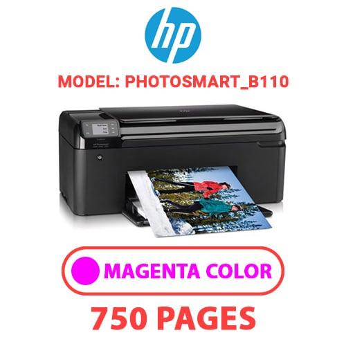 Photosmart B110 2 - HP Photosmart_B110 - MAGENTA INK