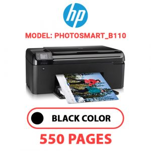 Photosmart B110 - HP Printer