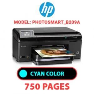 Photosmart B209a 1 - HP Printer