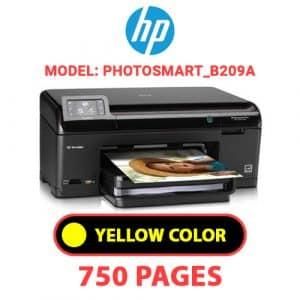 Photosmart B209a 3 - HP Printer