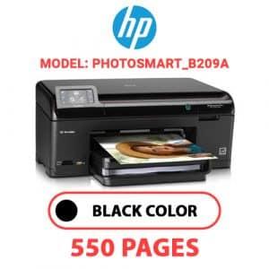 Photosmart B209a - HP Printer