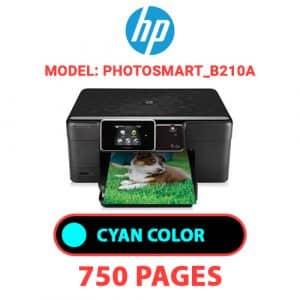 Photosmart B210a 1 - HP Printer