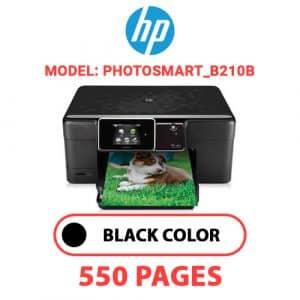 Photosmart B210b - HP Printer