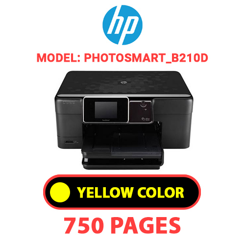 Photosmart B210d 3 - HP Photosmart_B210d - YELLOW INK