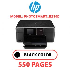 Photosmart B210d - HP Printer