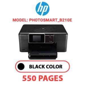 Photosmart B210e - HP Printer