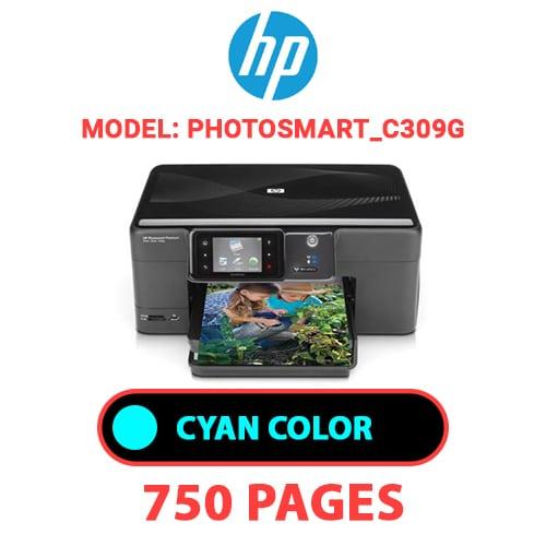 Photosmart C309g 2 - HP Photosmart_C309g - CYAN INK