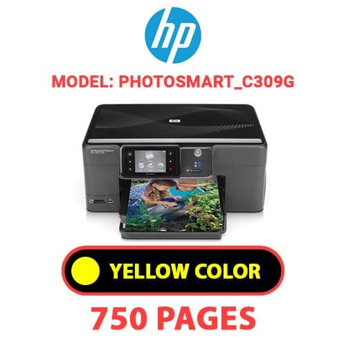 Photosmart C309g 4 - HP Photosmart_C309g - YELLOW INK