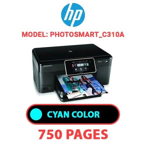 Photosmart C310a 2 - HP Photosmart_C310a - CYAN INK