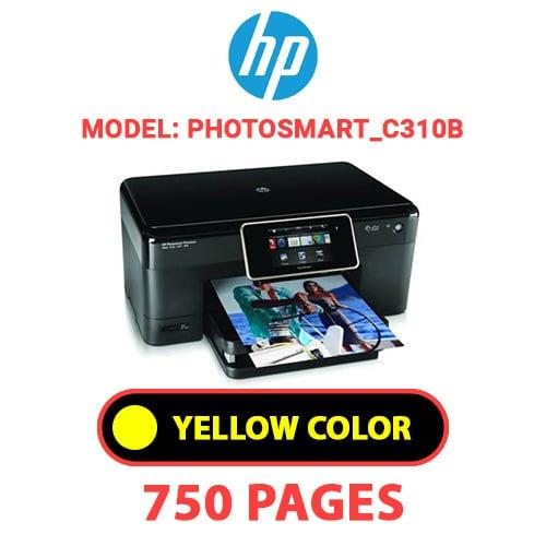 Photosmart C310b 4 - HP Photosmart_C310b - YELLOW INK