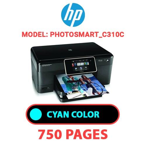 Photosmart C310c 2 - HP Photosmart_C310c - CYAN INK