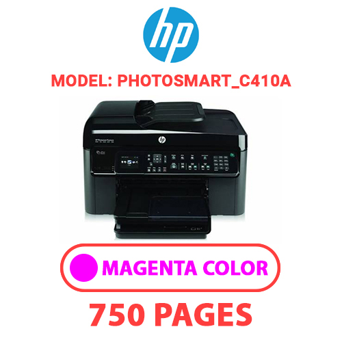 Photosmart C410a 3 - HP Photosmart_C410a - MAGENTA INK