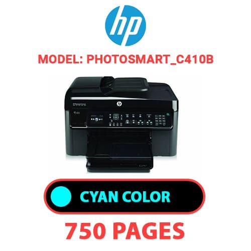 Photosmart C410b 2 - HP Photosmart_C410b - CYAN INK