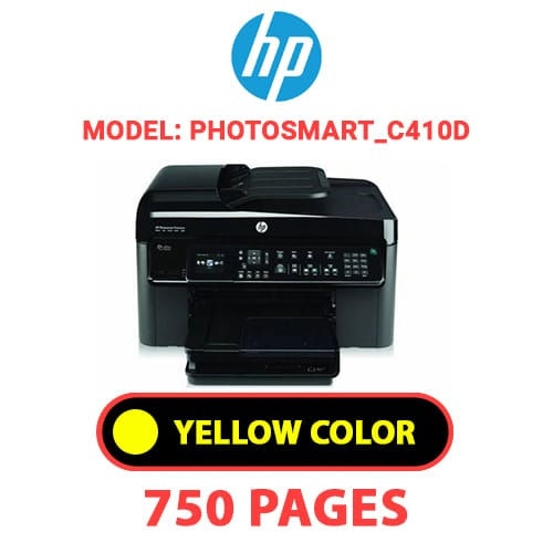 Photosmart C410d 4 - HP Photosmart_C410d - YELLOW INK