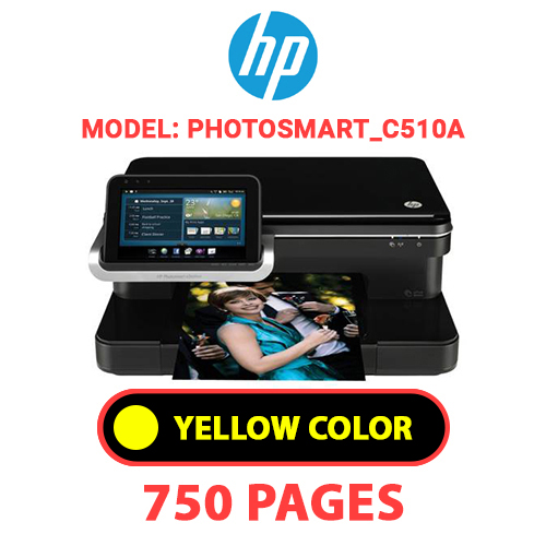 Photosmart C510a 4 - HP Photosmart_C510a - YELLOW INK