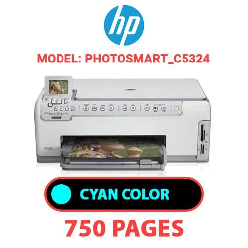 Photosmart C5324 2 - HP Photosmart_C5324 - CYAN INK