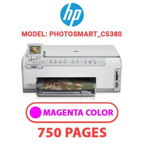 Photosmart C5380 3 - HP Photosmart_C5380 - MAGENTA INK