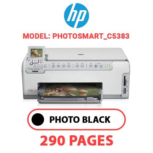 Photosmart C5383 1 - HP Photosmart_C5383 - PHOTO BLACK INK