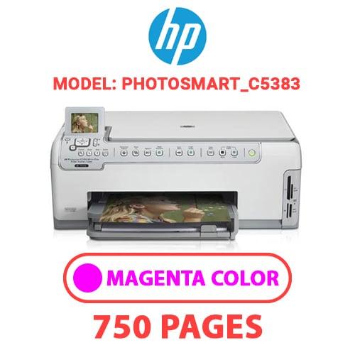 Photosmart C5383 3 - HP Photosmart_C5383 - MAGENTA INK