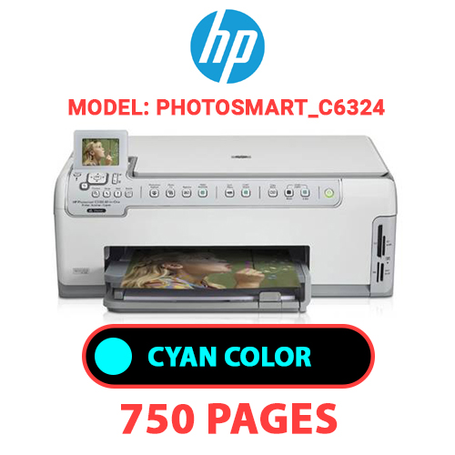 Photosmart C6324 2 - HP Photosmart_C6324 - CYAN INK