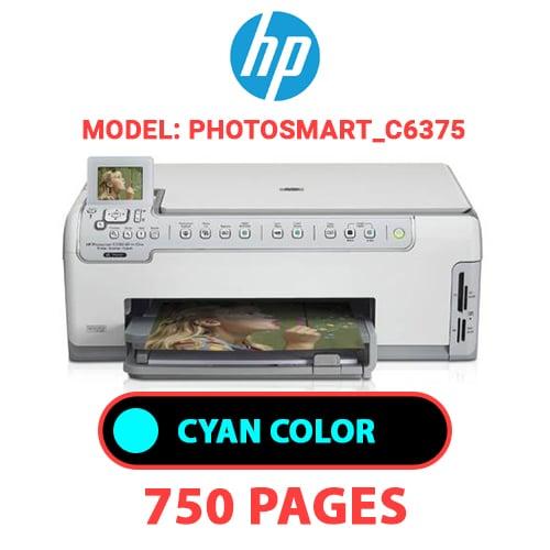 Photosmart C6375 2 - HP Photosmart_C6375 - CYAN INK