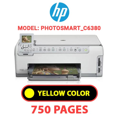 Photosmart C6380 4 - HP Photosmart_C6380 - YELLOW INK