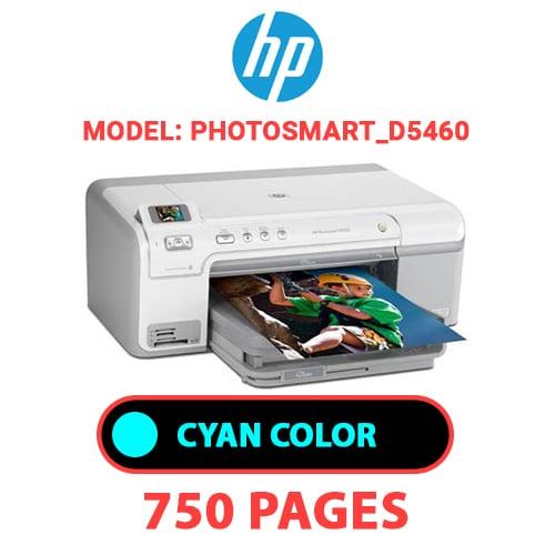 Photosmart D5460 2 - HP Photosmart_D5460 - CYAN INK