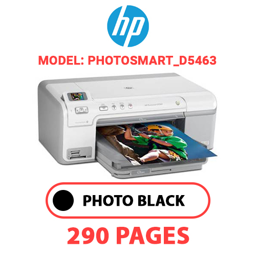 Photosmart D5463 1 - HP Photosmart_D5463 - PHOTO BLACK INK