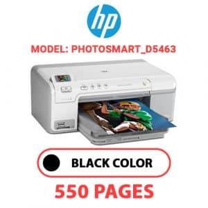 Photosmart D5463 - HP Printer