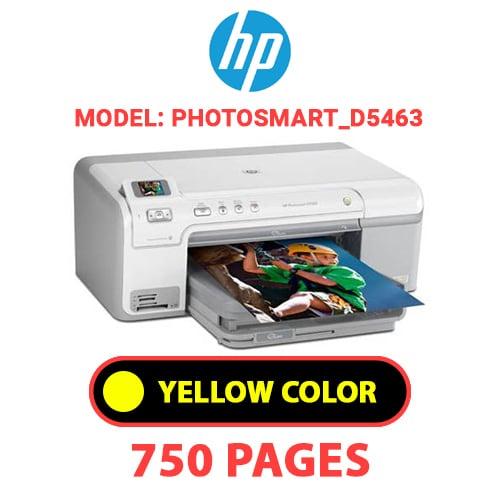 Photosmart D5463 4 - HP Photosmart_D5463 - YELLOW INK