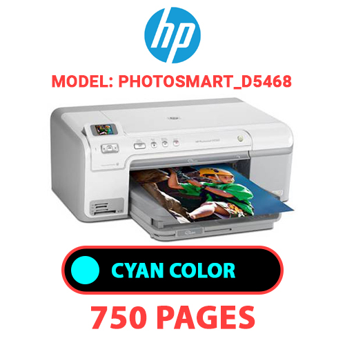 Photosmart D5468 2 - HP Photosmart_D5468 - CYAN INK