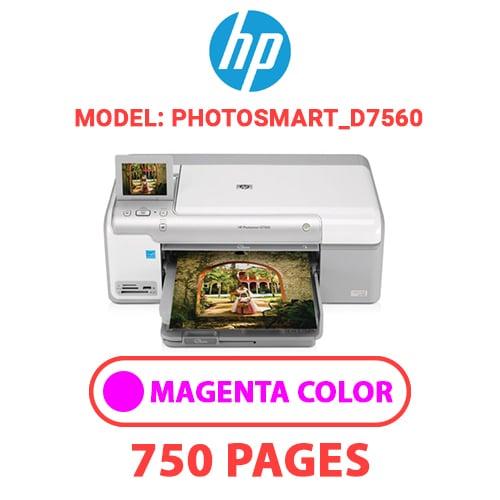 Photosmart D7560 3 - HP Photosmart_D7560 - MAGENTA INK