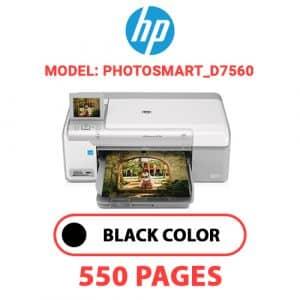 Photosmart D7560 - HP Printer