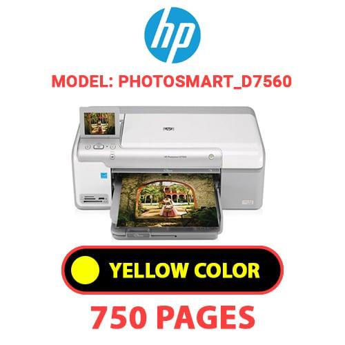 Photosmart D7560 4 - HP Photosmart_D7560 - YELLOW INK