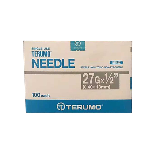 Picture 2020 08 18 08.32.33 - Hypodermic Needles For Irrigation(Terumo) 27G  - (0.40 x 13mm) (100/box)