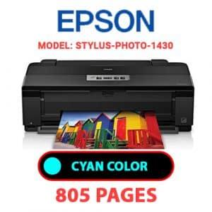 STYLUS PHOTO 1430 2 - Epson Printer