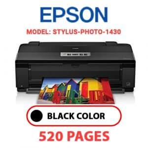 STYLUS PHOTO 1430 - Epson Printer