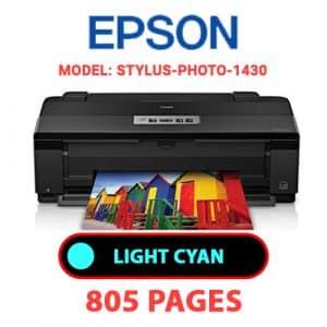 STYLUS PHOTO 1430 5 - Epson Printer
