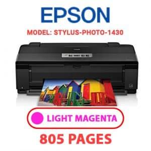 STYLUS PHOTO 1430 7 - Epson Printer